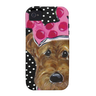 AIREDALE TERRIER iPhone 4/4S FUNDAS