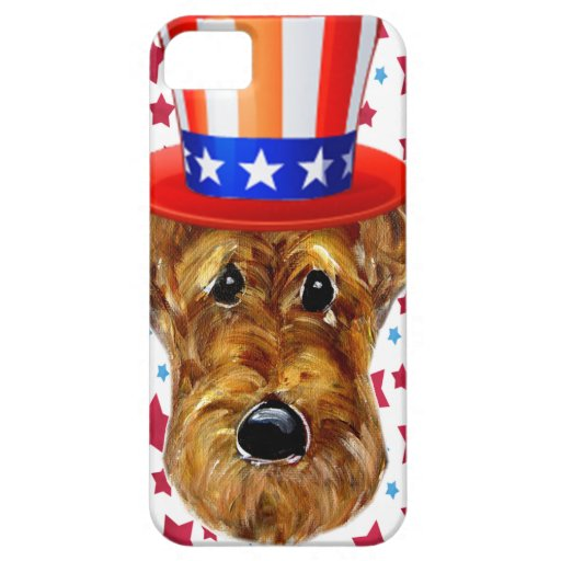 AIREDALE TERRIER iPhone 5 FUNDA