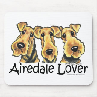 Airedale Terrier Lover Mouse Pad