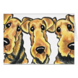Airedale Terrier Lover Note Card
