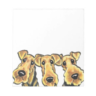 Airedale Terrier Lover Notepad