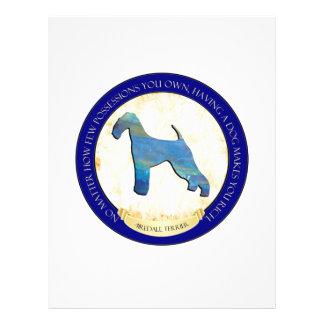 Airedale Terrier Medallion Flyer