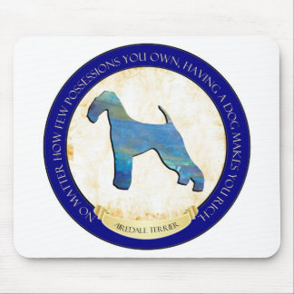 Airedale Terrier Medallion Mousepad