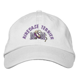 Airedale Terrier Mom Gifts Embroidered Baseball Hat
