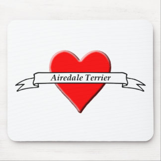 Airedale Terrier Mousepads