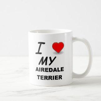 airedale terrier coffee mug