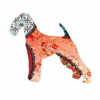 Airedale Terrier Patchwork Pet Photo Sculpture
