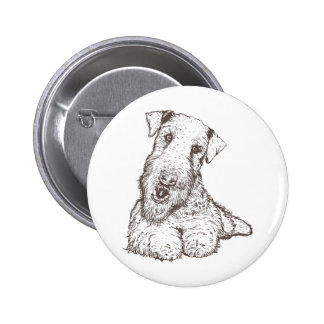 Airedale Terrier Pins