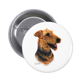 Airedale Terrier Pin