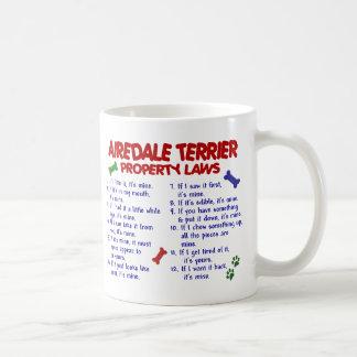 AIREDALE TERRIER PL2 COFFEE MUG