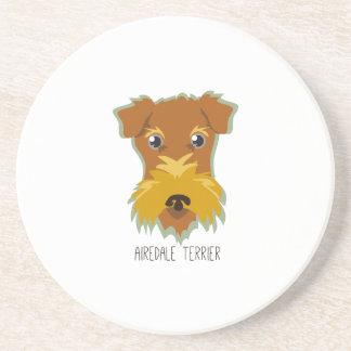 Airedale Terrier Posavasos Personalizados