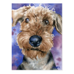 Airedale Terrier Postales
