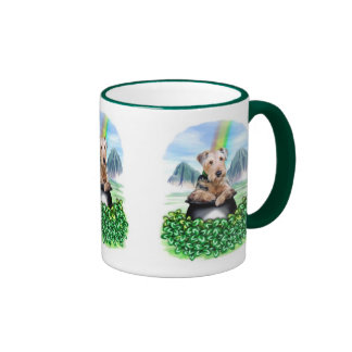 Airedale Terrier Pot of Gold Mug