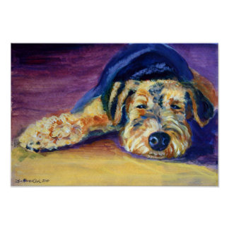 Airedale Terrier Print