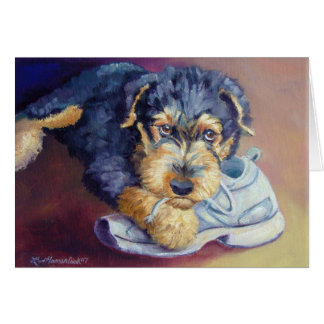 Airedale Terrier Pup Cards