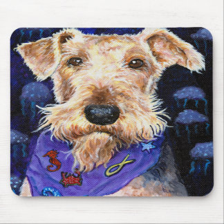 Airedale Terrier Seadale Mousepads