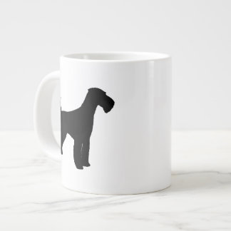 Airedale Terrier Silhouettes Large Coffee Mug