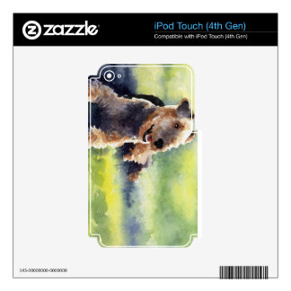 Airedale Terrier Skins Para iPod Touch 4G