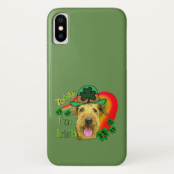 Case-Mate Barely There iPhone X Case with Airedale Terrier Phone Cases design