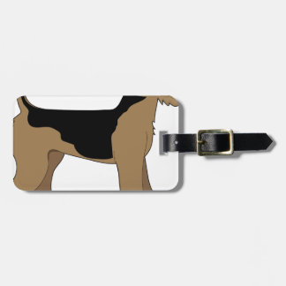 Airedale Terrier Tag For Luggage