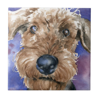 Airedale Terrier Tile