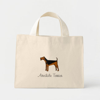 Airedale Terrier Tiny Tote