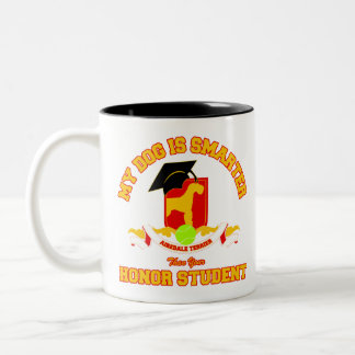 Airedale Terrier Two-Tone Coffee Mug