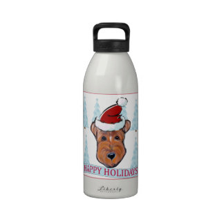 AIREDALE TERRIER DRINKING BOTTLE