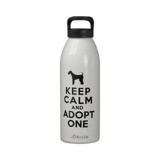 Airedale Terrier Drinking Bottles