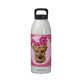 AIREDALE TERRIER REUSABLE WATER BOTTLE