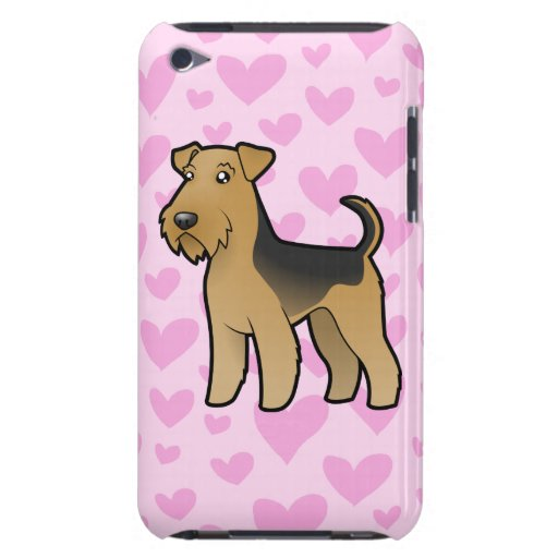 Airedale Terrier / Welsh Terrier Love Barely There iPod Cover