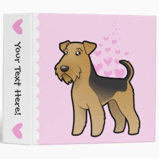 Airedale Terrier / Welsh Terrier Love Binder