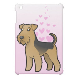 Airedale Terrier / Welsh Terrier Love Cover For The iPad Mini