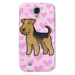 Airedale Terrier / Welsh Terrier Love Galaxy S4 Case