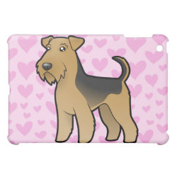 Airedale Terrier / Welsh Terrier Love iPad Mini Case