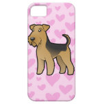 Airedale Terrier / Welsh Terrier Love iPhone SE/5/5s Case
