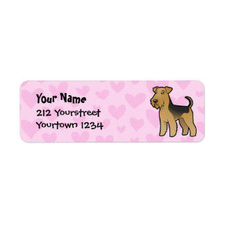 Airedale Terrier / Welsh Terrier Love Label