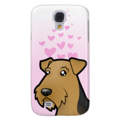 Airedale Terrier / Welsh Terrier Love Samsung Galaxy S4 Case