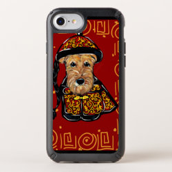 Speck Presidio iPhone 8/7/6s/6 Case with Airedale Terrier Phone Cases design
