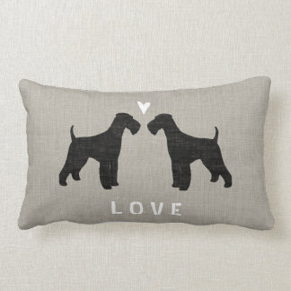 Airedale Terriers Love Pillow