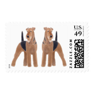 Airedale Terriers Postage