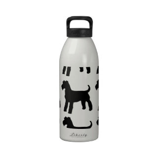 AIREDALE TERRIERS REUSABLE WATER BOTTLE