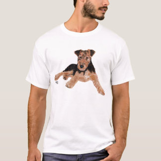 Airedale / Welsh Terrier Puppy T-Shirt