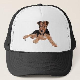Airedale / Welsh Terrier Puppy Trucker Hat