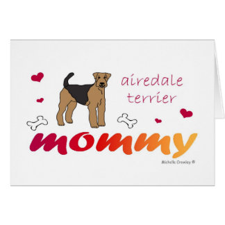 AiredaleTerrier Greeting Card