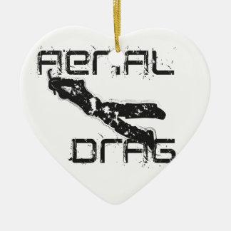 airefil drag hockey keeper ceramic ornament