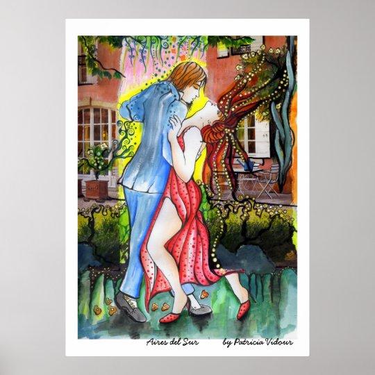 Aires del Sur Tango Poster