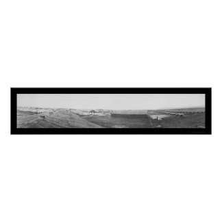 Airfield San Diego Photo 1918 Poster