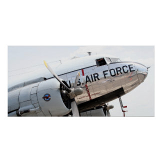 AirForce C-47 Poster