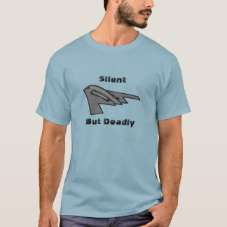 AirForce Military B2 Stealth Bomber In Flight T-Shirt